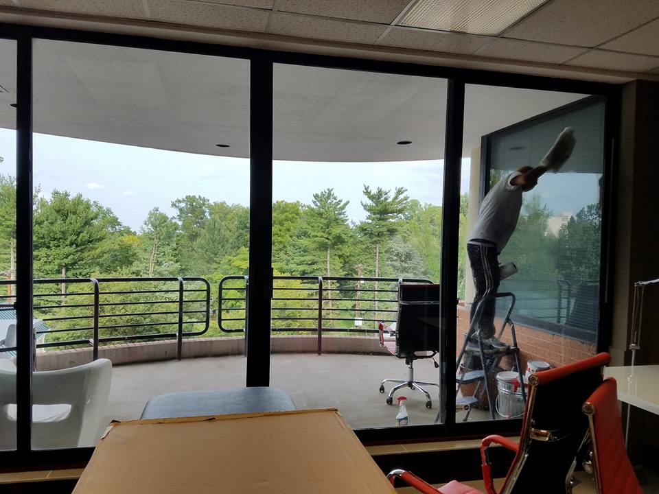 window cleaning service photo